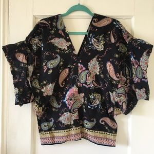 Tops - One of a Kind Paisley Top